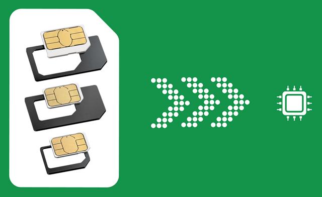 Замена Sim-карт в телефонах чипами стандарта eSim