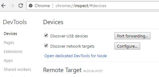 Страница процессов Chrome