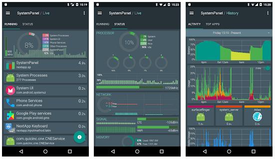 SystemPanel 2 – контроль использования ресурсов приложениями