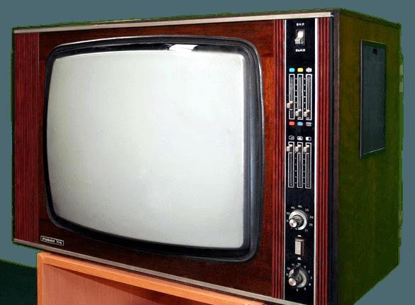 Рубин 714 один из первых цветных телевизоров