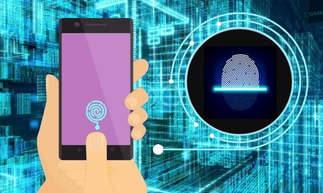 Безопасность сканирования отпечатка пальца на смартфоне