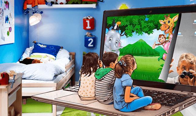Слежка за детьми через компьютерную игру