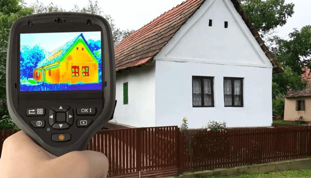 Получение изображения с помощью тепловизора