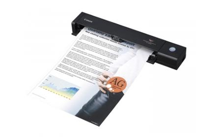 Canon P-208II – мобильный сканер для двухстороннего сканирования
