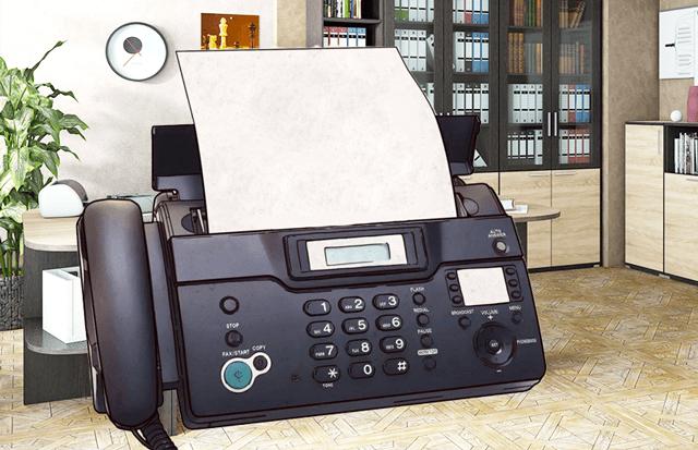 Факс по-прежнему присутствует в большинстве офисов