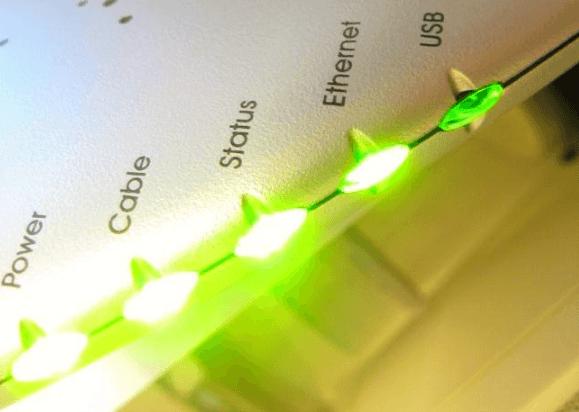 Яркие индикаторы маршрутизатора – работа в порядке