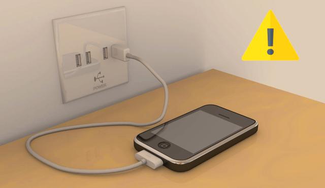 Опасная зарядка через USB розетку в публичном месте