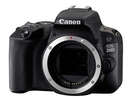 Canon EOS 200D – доступная зеркальная камера с системой Canon DualPixel AF