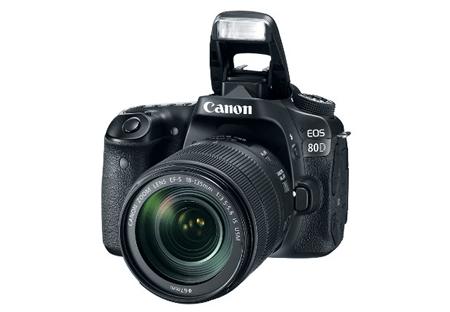 Canon EOS 80D – удовлетворит требования любителя