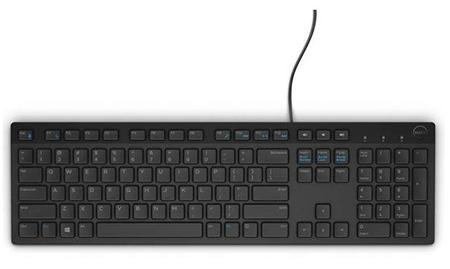 Dell KB216 Quietkey USB – клавиатура для нетребовательных пользователей
