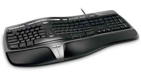 Microsoft Natural Ergonomic 4000 – стандарт эргономичных клавиатур