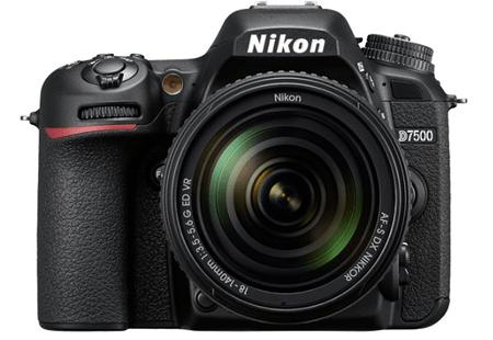 Nikon D7500 – представитель известной серии фотокамер