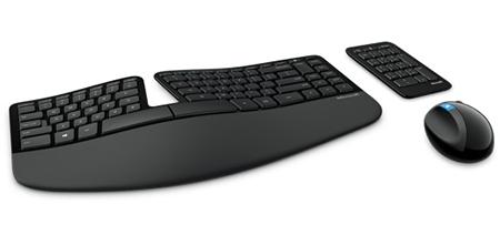 Microsoft Sculpt Ergonomic Desktop – нестандартная эргономичная клавиатура