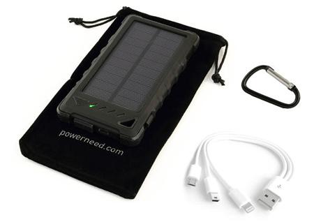 Sunen PowerNeed – портативный зарядки с солнечной батареей