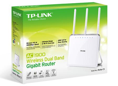 TP-Link Archer C9 – мощный двухполосный маршрутизатор