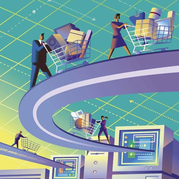 Покупки в Web, Интернет-магазины