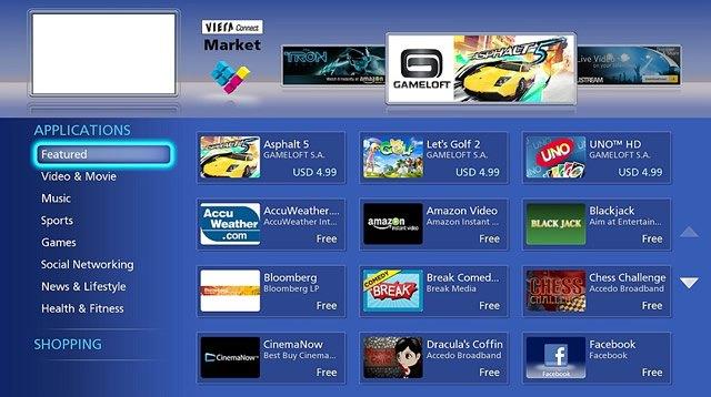Дополнительные приложения и мини-игры для Smart-TV