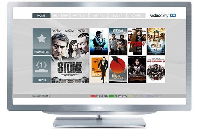 Прокат фильмов на Smart телевизорах