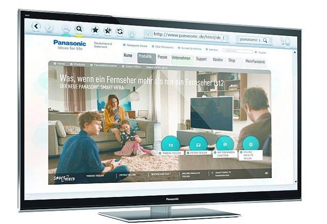 Интернет-браузер в телевизоре
