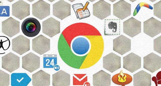 Сетка главных расширений для браузера Google Chrome