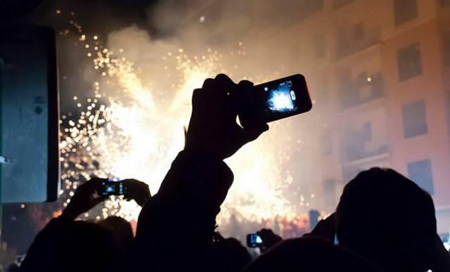 Фотографирование событий с помощью смартфона