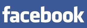 Старый текстовый логотип социальной сети Facebook