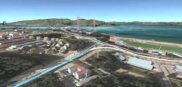 Изображение из Google Earth Pro