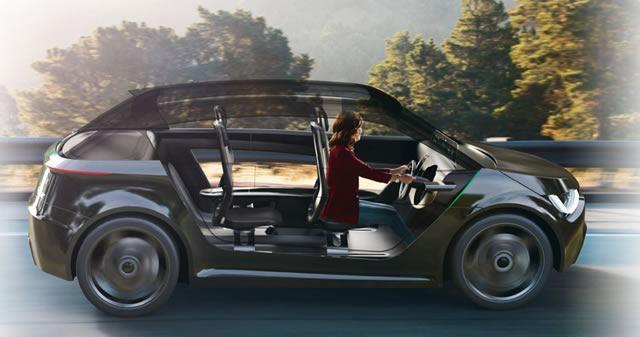 Концептуальный проект автомобиля будущего с полуавтоматическим управлением