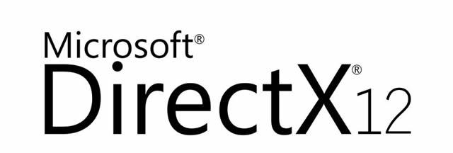 Надпись – Microsoft DirectX 12