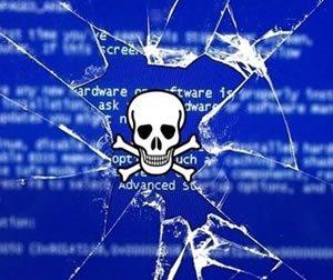 Повреждение загрузки компьютера вирусом Rombertik