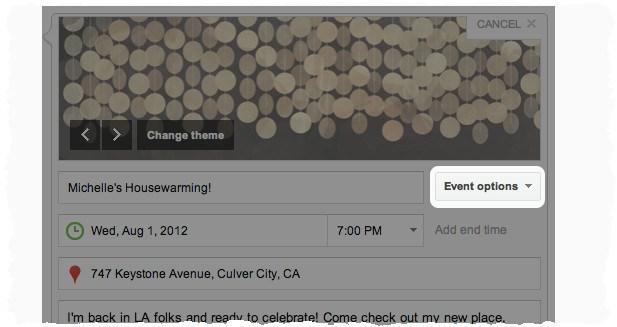 Транслируемые события на Google Plus