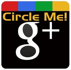 Призыв добавлять пользователей в круги Google Plus
