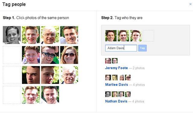 Добавление тегов к фотографиям в социальной сети Google Plus