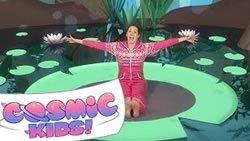Легкие и весёлые упражнения канала Cosmic Kids Yoga