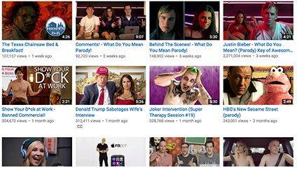 Индивидуальный эскиз для каждого видео на YouTube
