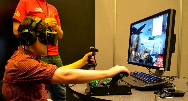 Использование очков виртуальной реальности для расширения игрового опыта