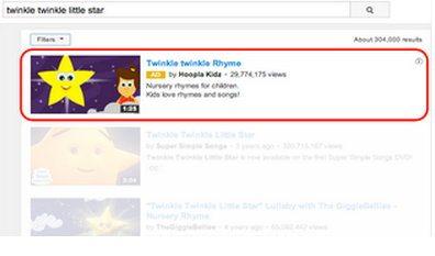 Использование популярных запросов в поиске YouTube