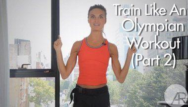 Серия тренировок, посвященных Олимпиаде в Лондоне