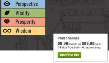 Плата за лучшие видео уроки на YouTube
