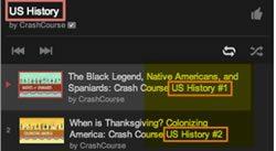 Хронологический плейлист с видео на YouTube