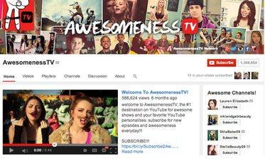 Привлекательное оформление страницы видео канала на YouTube