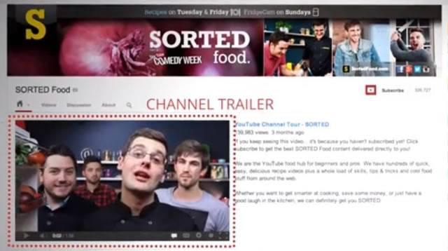 Размещение трейлера канала YouTube