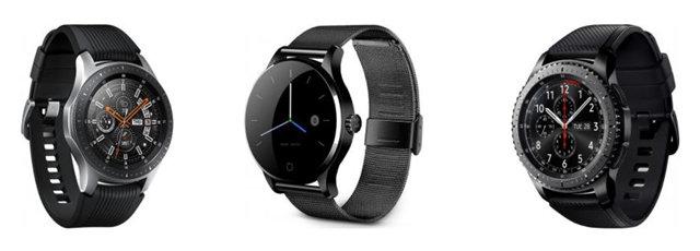 Пример популярных умных часов smartwatch
