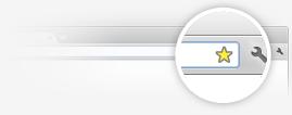 Добавление закладки в Google Chrome