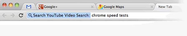 Поиск с помощью браузера Chrome на YouTube