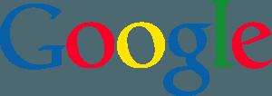 Google - это официальный логотип компании