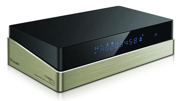 В модели iconBIT XDS1003D T2 используется операционная система Android, и, кроме того, он оборудован DVB-T тюнером с возможностью записи