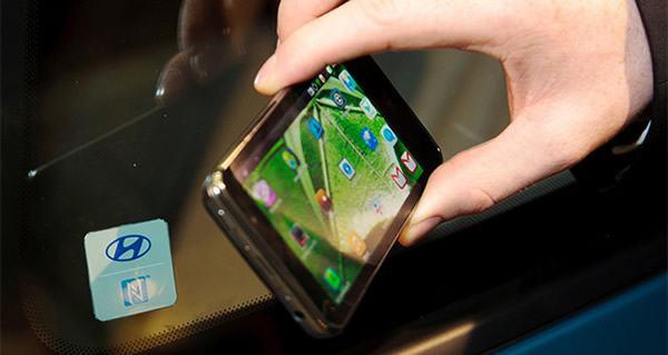 Открываем автомобиль смартфоном