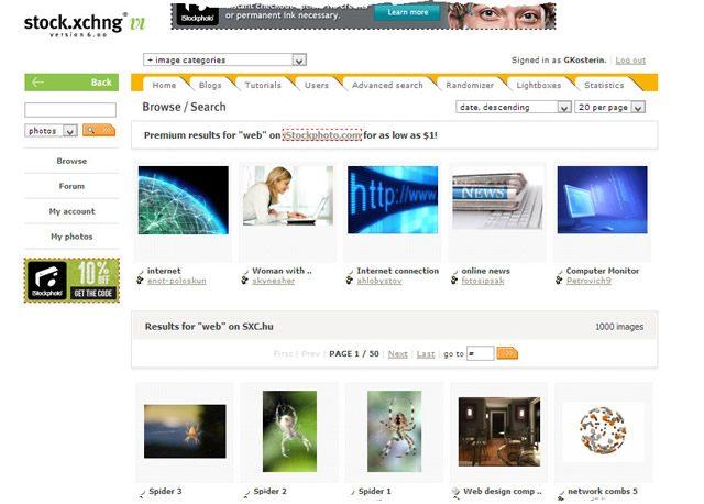 Фото сервис Stock.XCHNG