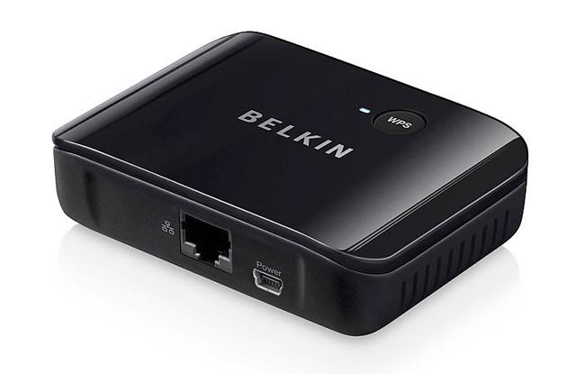 Адаптер Belkin Smart Link: с его помощью можно подключить телевизор любой марки к домашней беспроводной сети